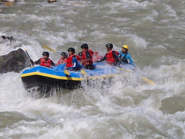 Budi Gandaki River rafting