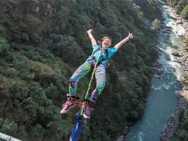 Nepal bungy jumping