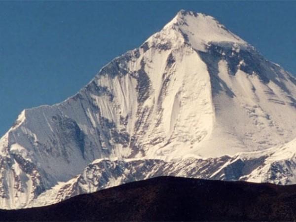 Mt. Dhaulagiri 8167 m.