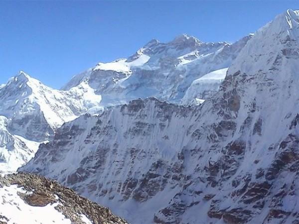 Mt. Kanchenjunga 8586 m.