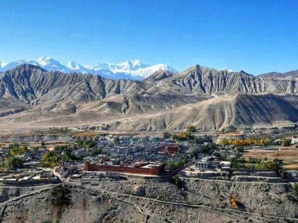 Upper Mustang or Lo Manthang Village